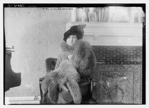 Blanca Errázuriz, fotografía entre los años 1910-1915.