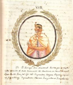 Don Cristóbal Paullu Inca.