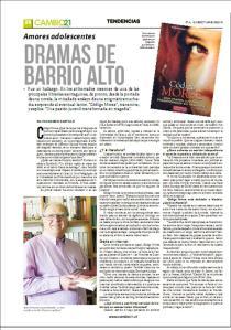 Entrevista en Cambio21