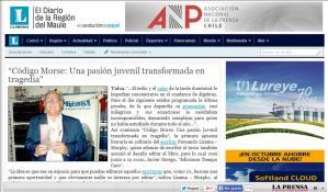 Entrevista en La Prensa Curicó