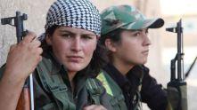 Combatientes kurdas
