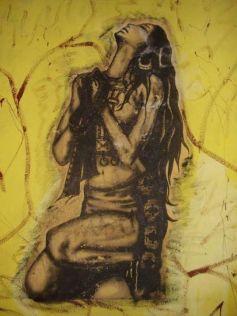 Janequeo, obra de Eleacer Gavilán