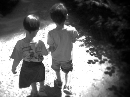 niños camino