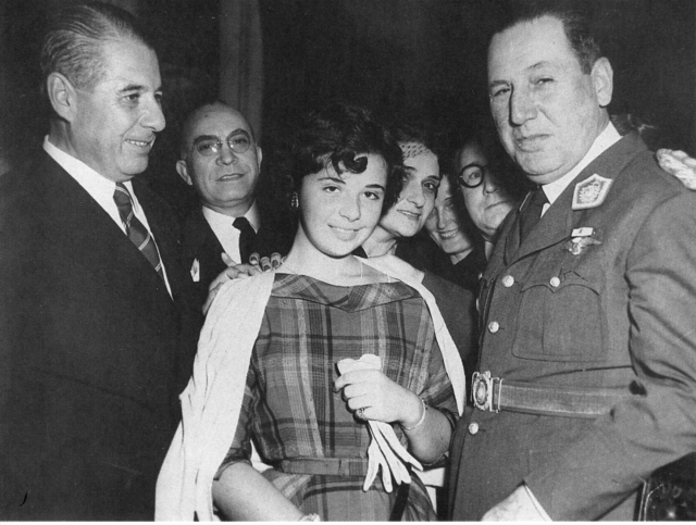 Nelly Rivas y Perón