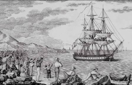 Ilustración de la Expedición Balmis