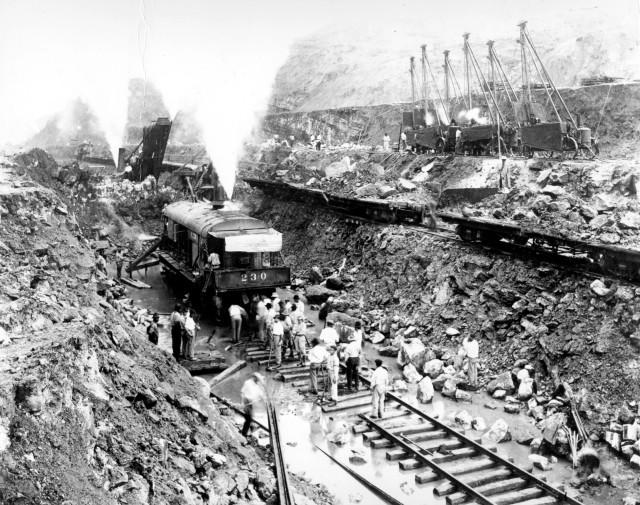 Canal de Panamá. construcción.
