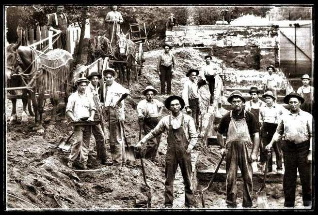 Obreros extranjeros en Canal de Panamá