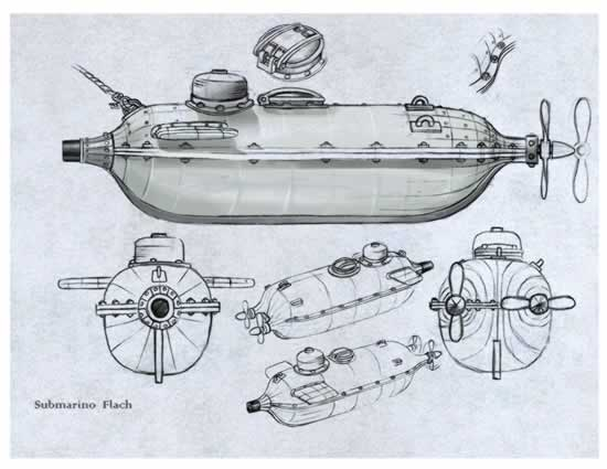 Submarino Flach