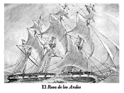 Fragata Rosa de los Andes