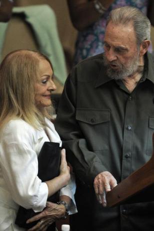Dalia Soto del Valle y Fidel