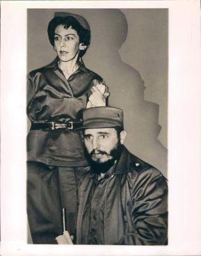 Fidel Castro y Celia Sánchez