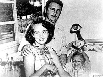 Mirta Díaz Balart y Fidel