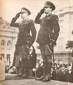 Perón y Farrell