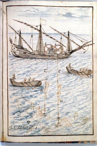 Pesca de perlas y busca de galeones